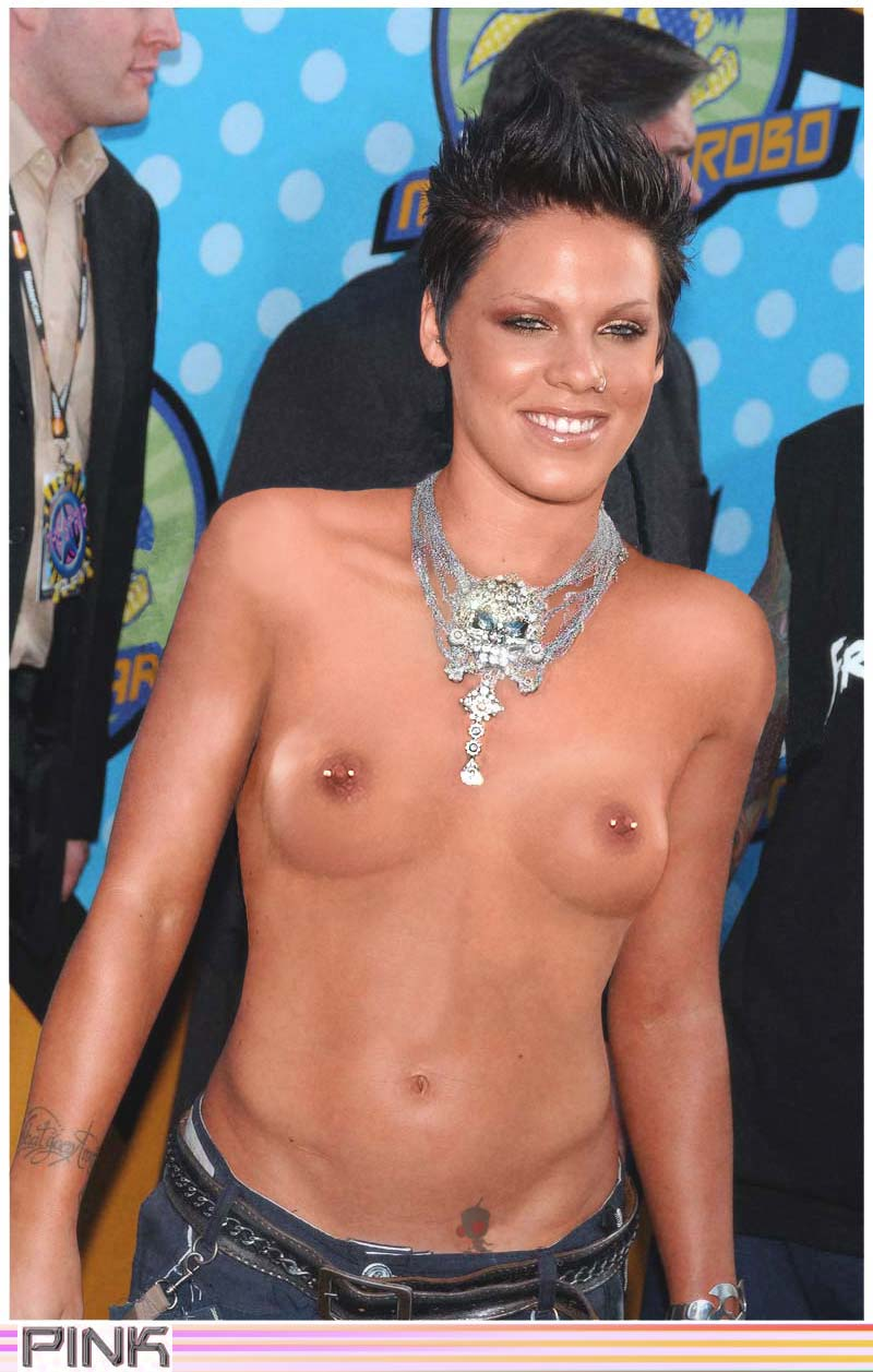 Singer pink nude