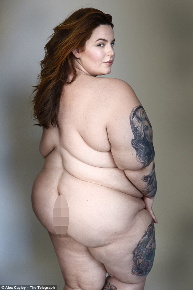 Tiffany bank plus size model nude