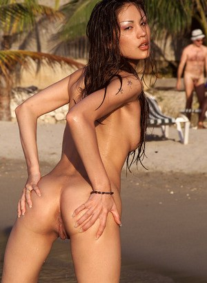 Asian nude beach