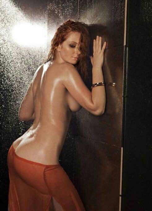 Pretty redhead ass