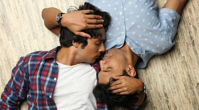 kissing men Indian gay