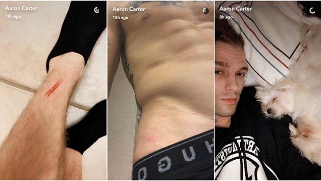 Aaron carter gay nude