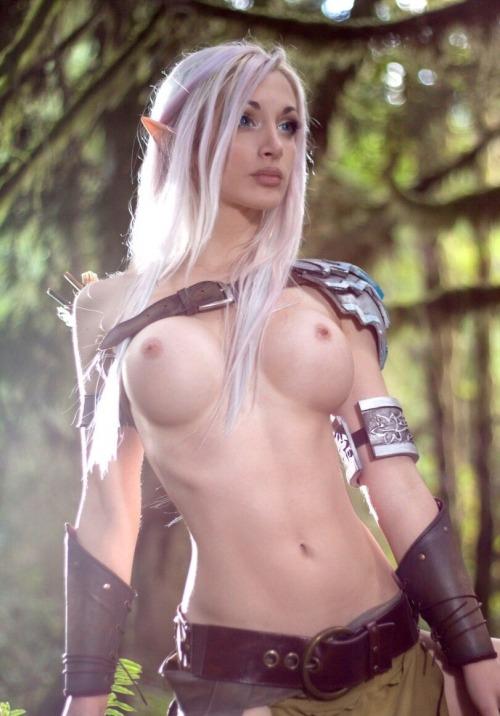 elf cosplay porn