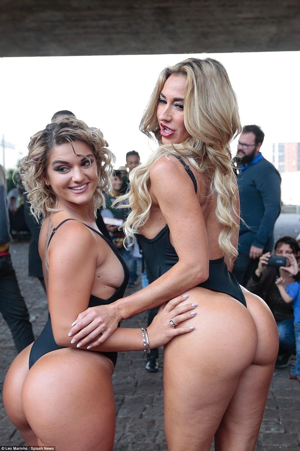 Brazilian big booty girls