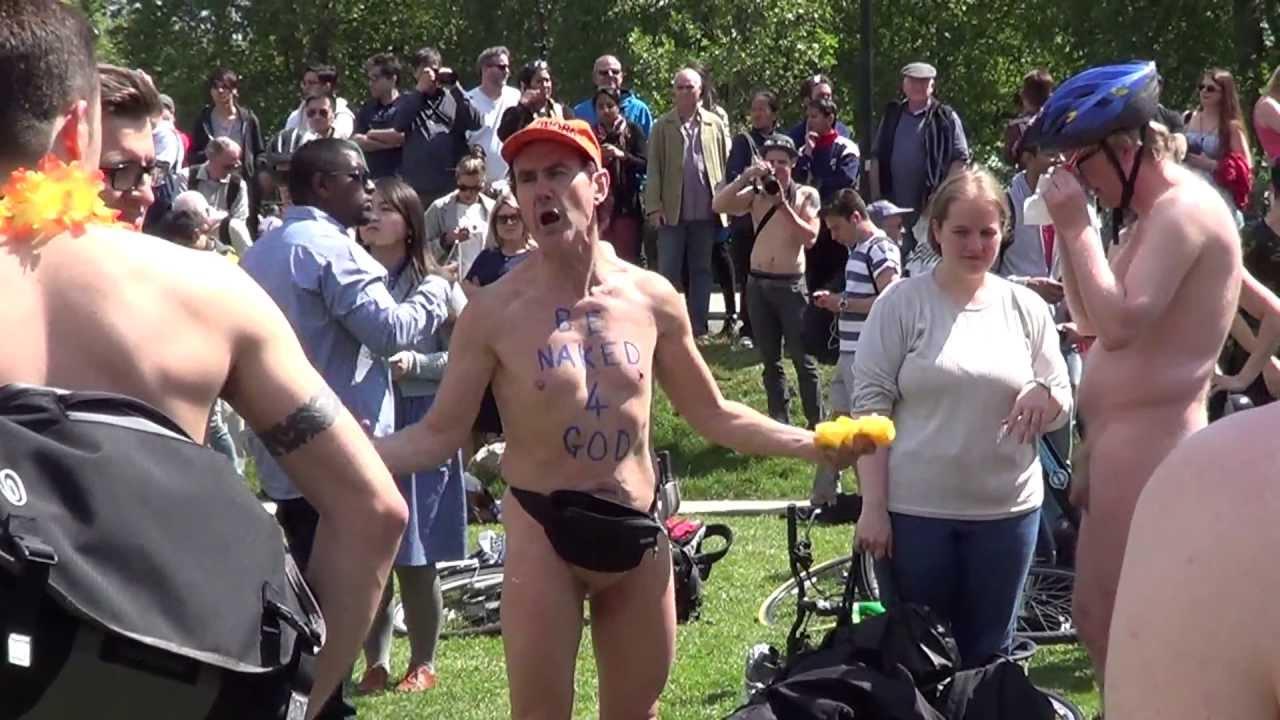 Cfnm naked bike ride