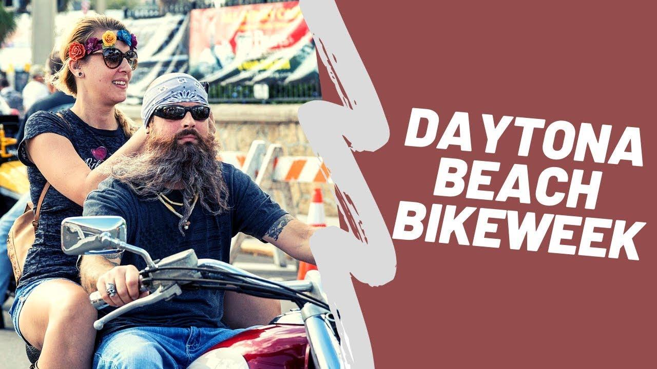 Biker girl daytona bike week