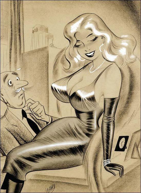 erotic Vintage cartoon sex adult