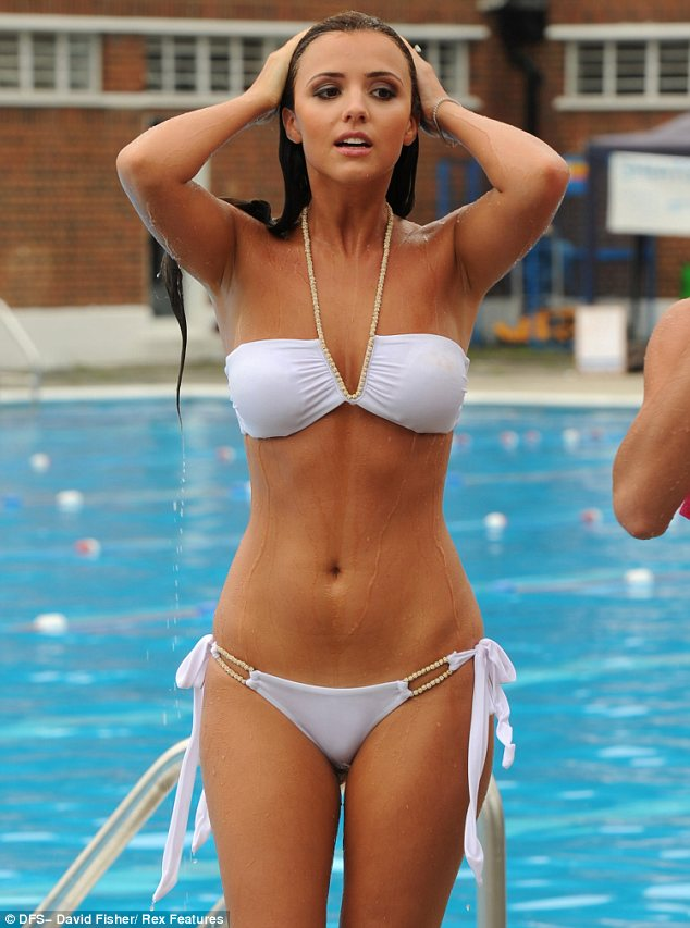Teen see through micro bikinis