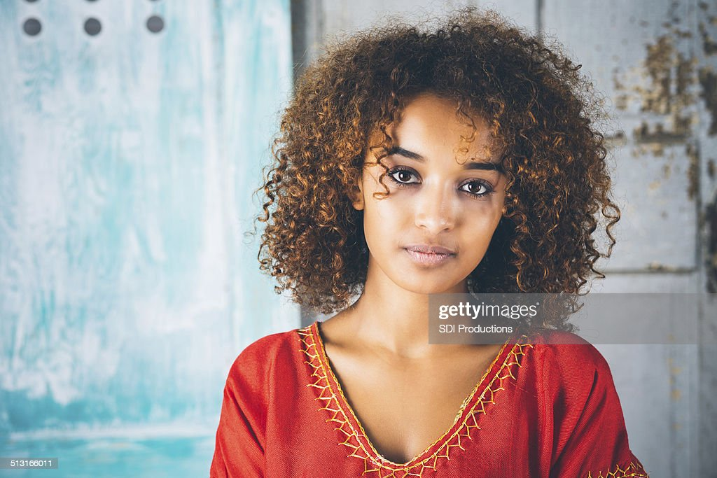 Girl ethiopian women