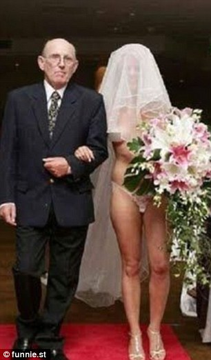 Bride nude wedding