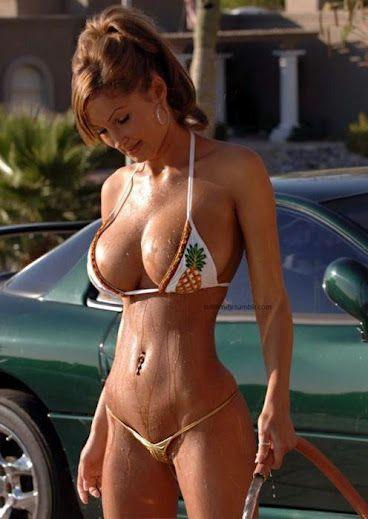 car sex Bikini wash