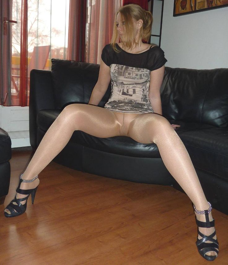 Pantyhose nylon stocking porn