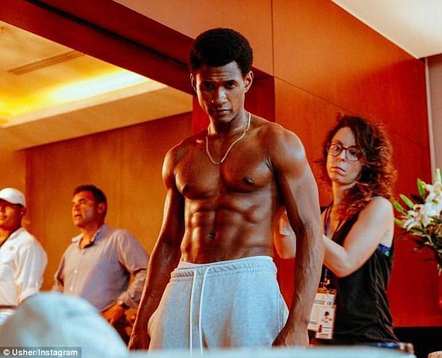 Usher raymond nude fake
