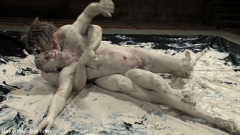 male mud wrestling naked