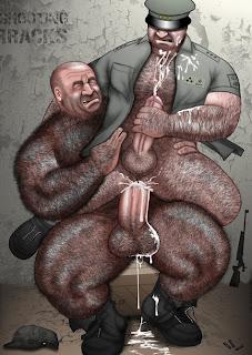 Brute men naked
