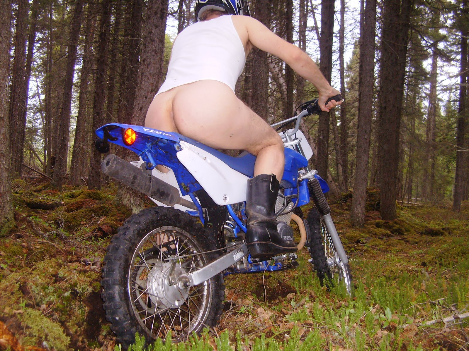 Not Dirtbike with girls nude think, that