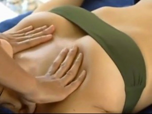 Boob breast massage