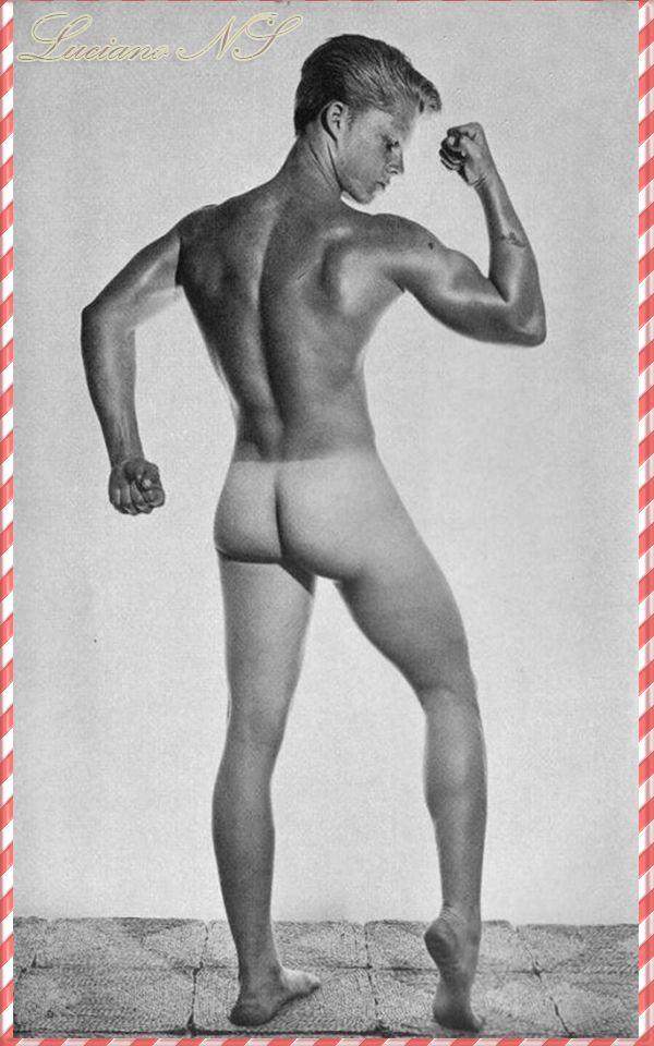 Vintage muscle men nude