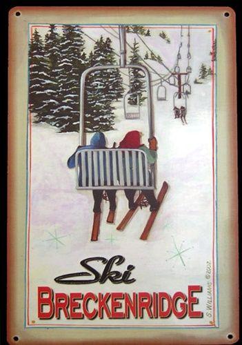 Vintage skis colorado
