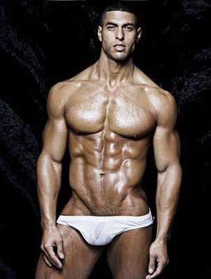 men muscle Gay latino