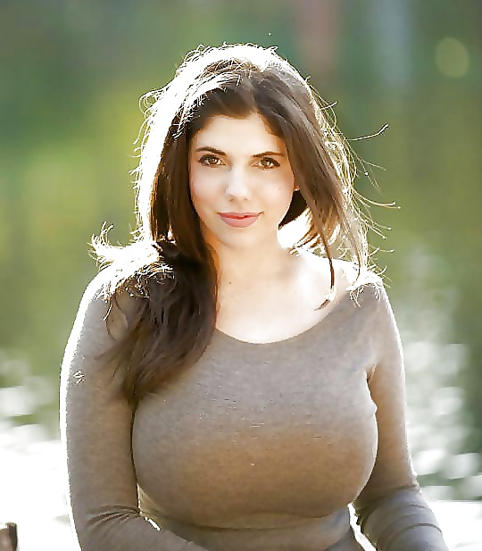 Fully clothed girls with big boobs