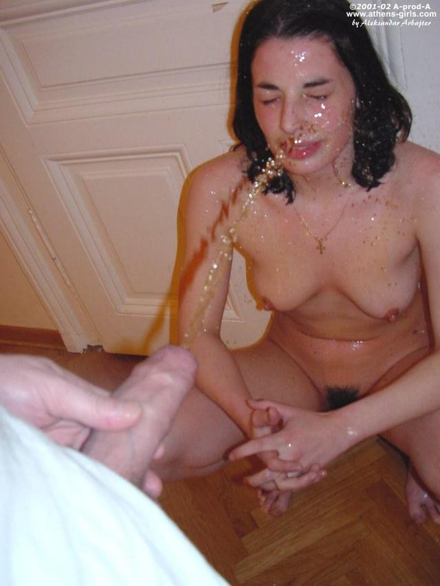 Golden shower porn