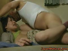 Japanese milf mom sex