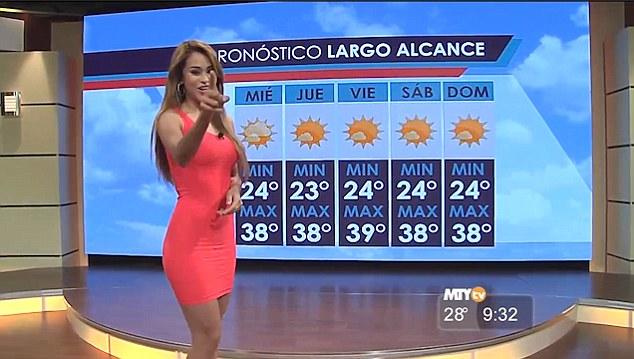 nude girls Spanish weather