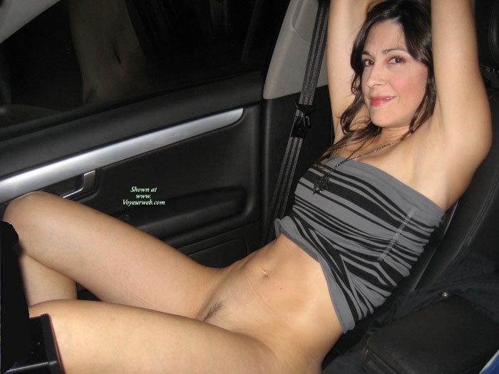 Amateur mature nude women in car