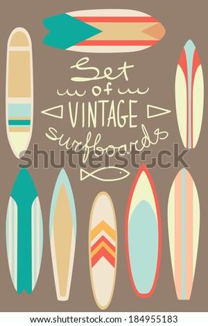 california board Vintage surf