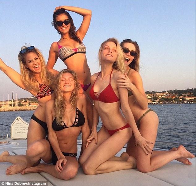 Hot bulgarian girls on beach
