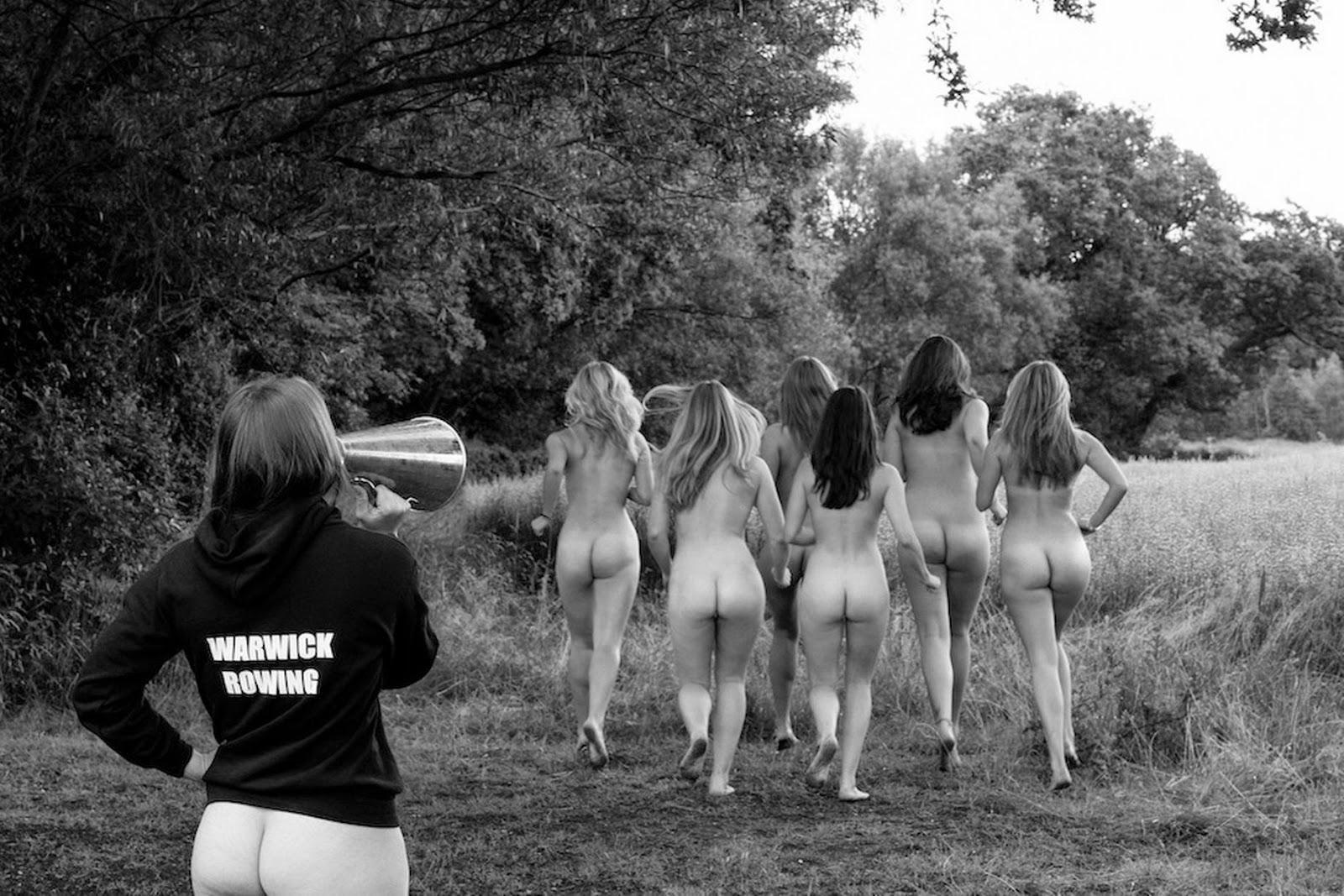Girl calendar nude sports team