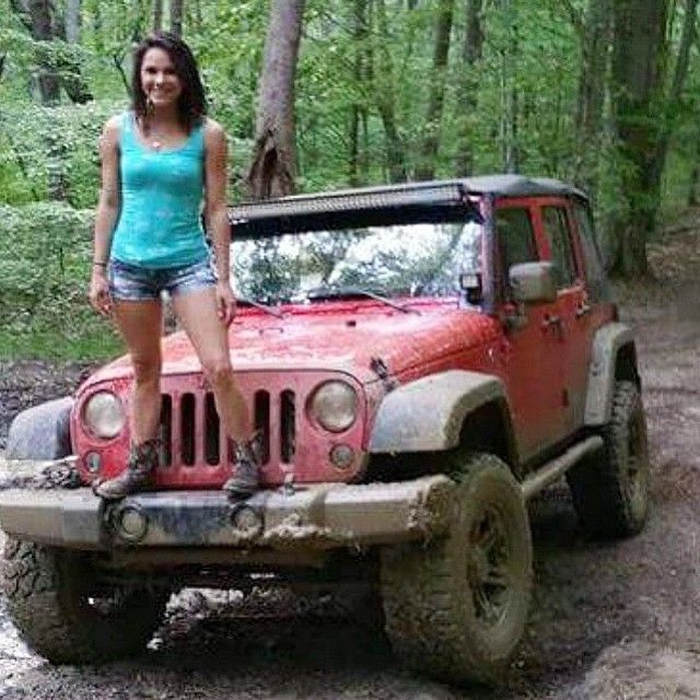 Dirty hot jeep girls