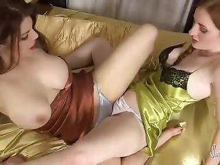 Satin silk panties sex