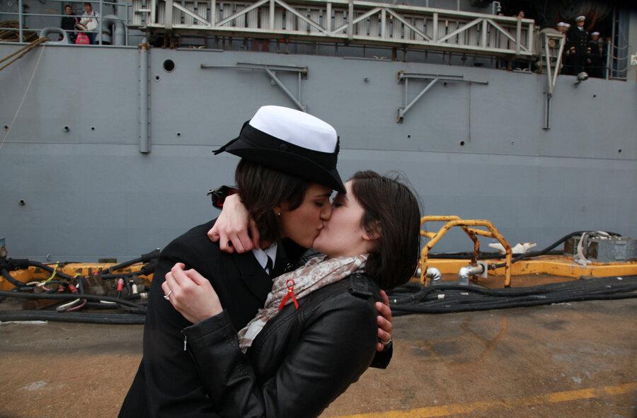 first kiss Navy