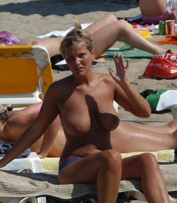 Candid voyeurs nude beach big tits