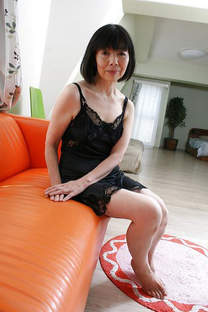 Naked mature asian women