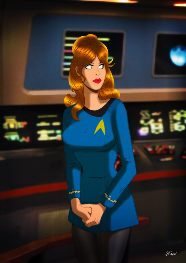 Star trek cartoon porn
