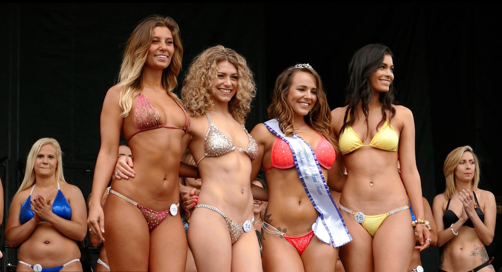 Bikini contest winners