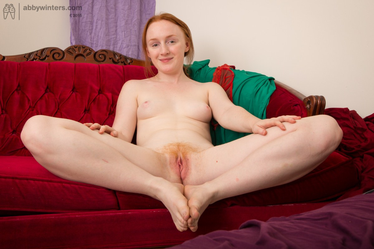 Amateur freckle nude red hair
