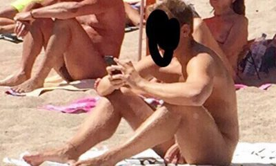 Nudist beach erection boner