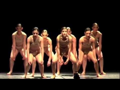 Dancers dancing in the nude