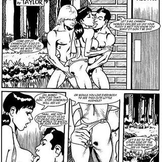Kevin taylor adult comics