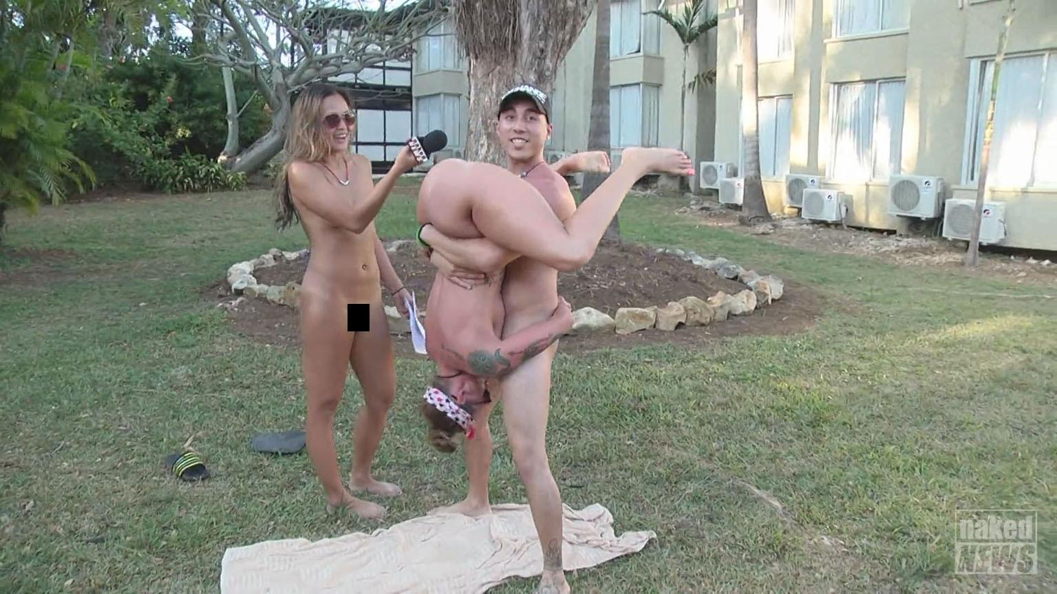 Jamaican sex party and nude