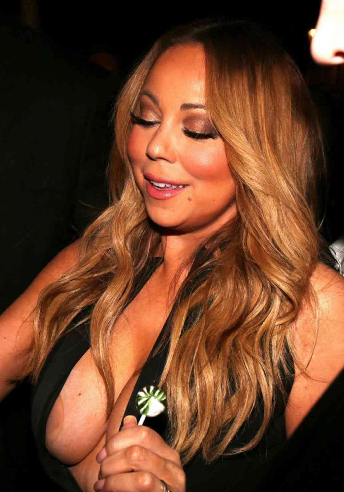 naked tits carey Mariah