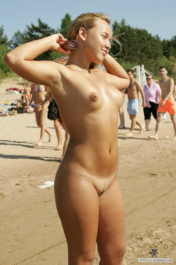 Russian family nude beach girl