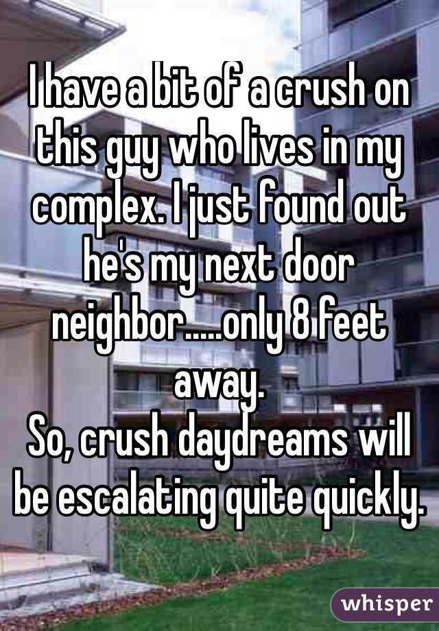Feet next door neighbor