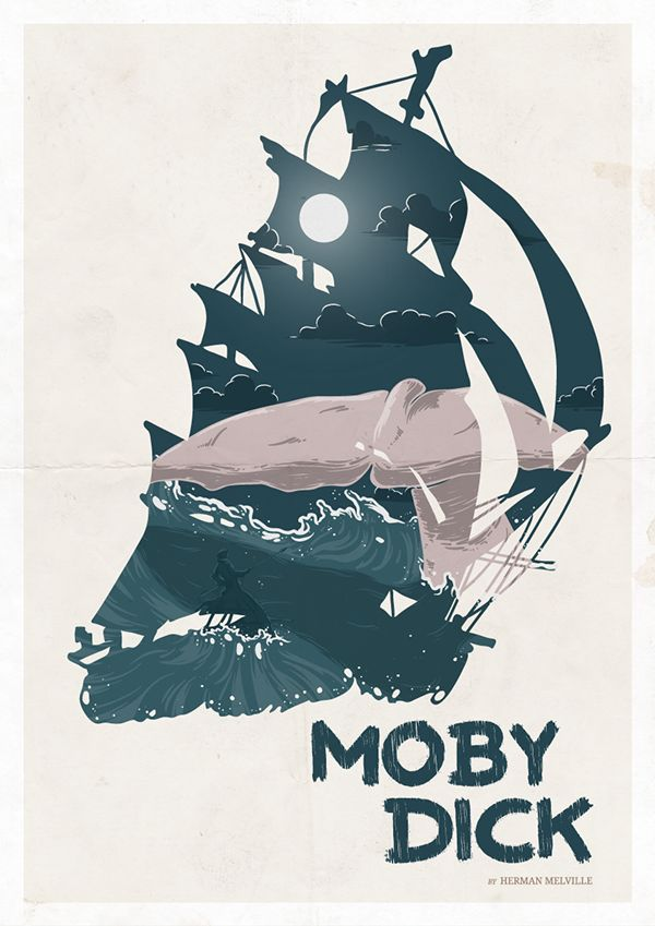 Moby dick vector