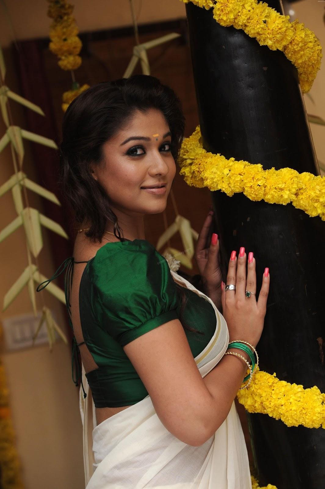 Nayanthara hot saree