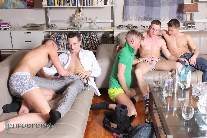 Gay boys orgy